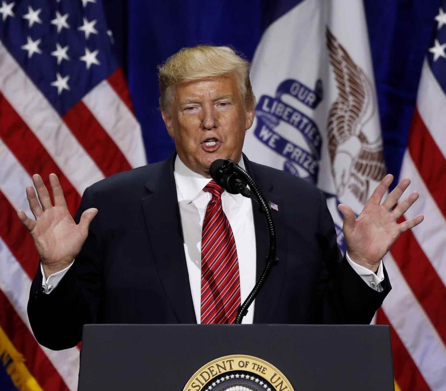 Protege Trump pregunta en censo -Reforma