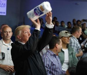 Un rollo de papel para Puerto Rico