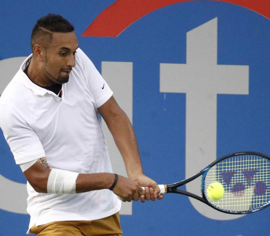 Destrozó dos raquetas, insultó al juez y hasta escupió — Desontroló Kyrgios