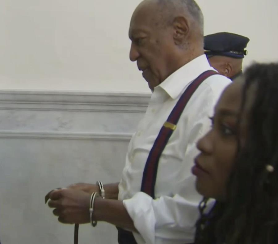 Cosby, de 81 años, declinó la oportunidad de hablar en la corte antes de conocer su castigo. (AP) (semisquare-x3)