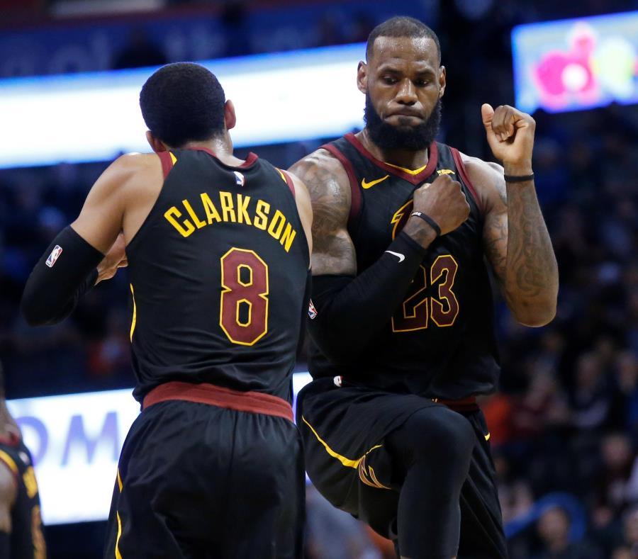 Cavaliers de Cleveland siguen sumando triunfos