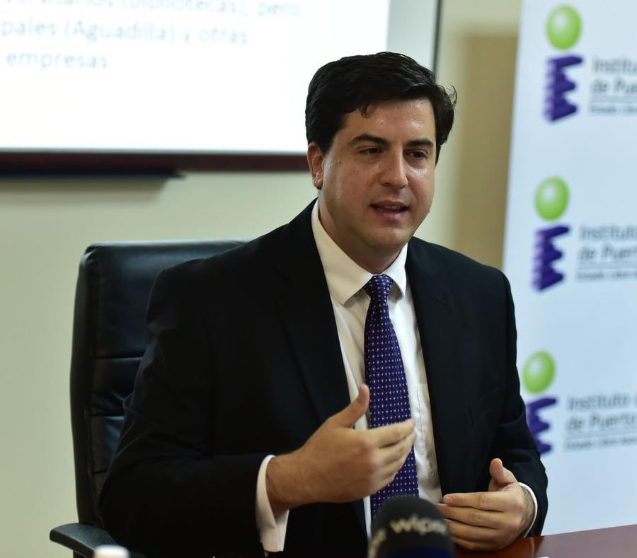 Mario Marazzi, presidente del Instituto de Estadísticas de Puerto Rico, instó a todas las agencias, corporaciones públicas y municipios a hacer uso de la plataforma transparenciafinanciera.pr. (semisquare-x3)