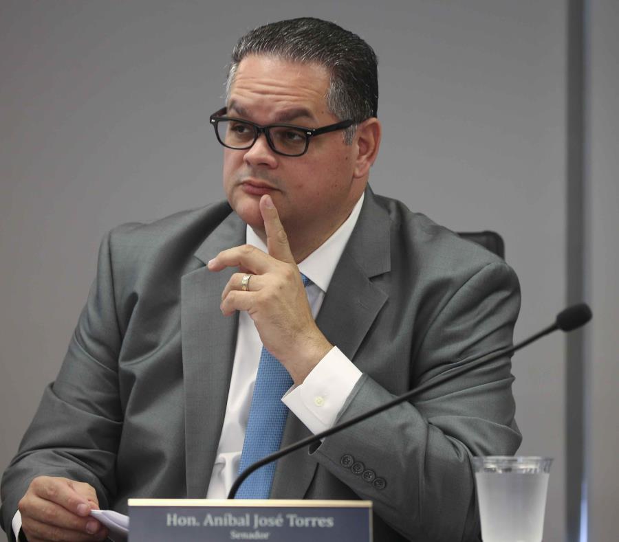 El senador popular Aníbal José Torres. (GFR Media) (semisquare-x3)