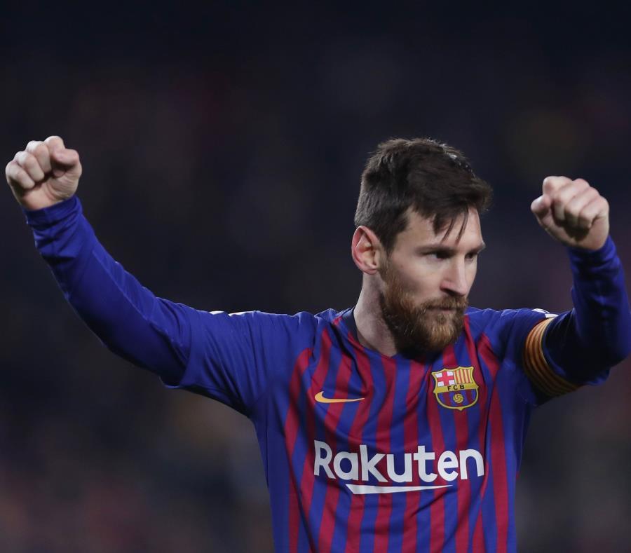 """""""Me parece increíble y a la vez una locura que Cirque du Soleil esté creando un espectáculo basado en mi vida, mi pasión, mi deporte"""", dijo Messi. (AP) (semisquare-x3)"""
