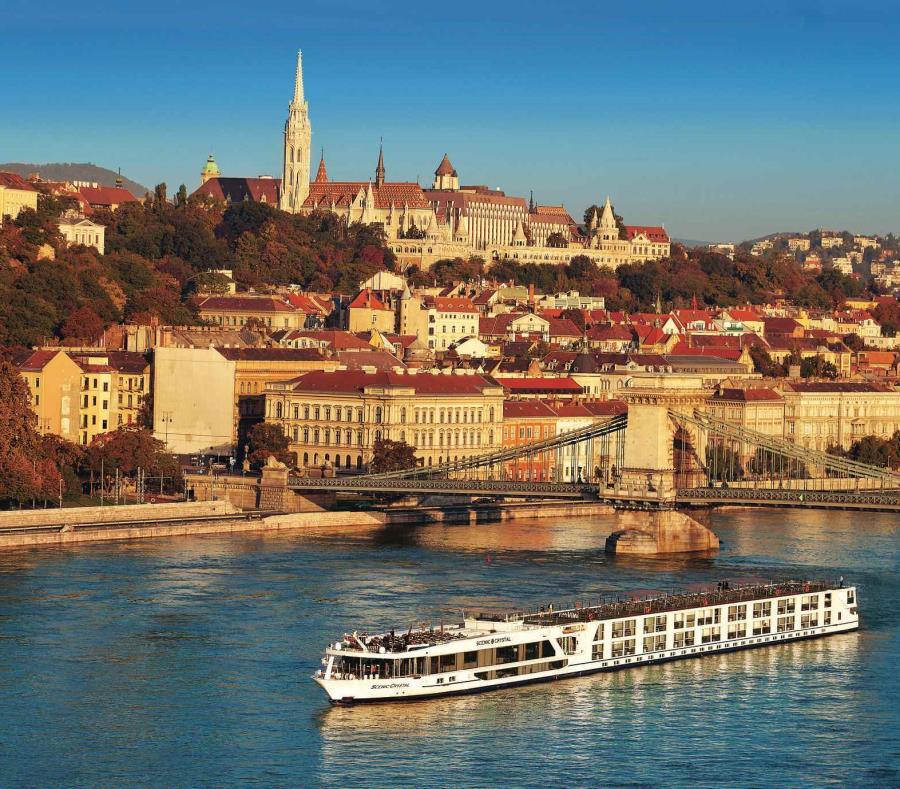 Entre los ríos que navegan los barcos de Scenic Cruises está el Danubio. (Suministrada) (semisquare-x3)