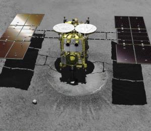 Una nave espacial japonesa intentará aterrizar en un asteroide lejano
