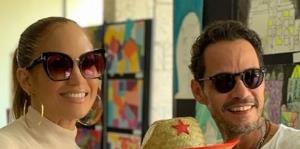Jennifer López y Alex Rodríguez comparten con Marc Anthony y su novia