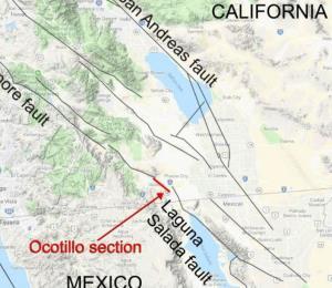 La NASA descubre una falla geológica que conecta a México con EE.UU.