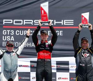 Víctor Gómez IV sigue dominando el Porsche GT3 Cup