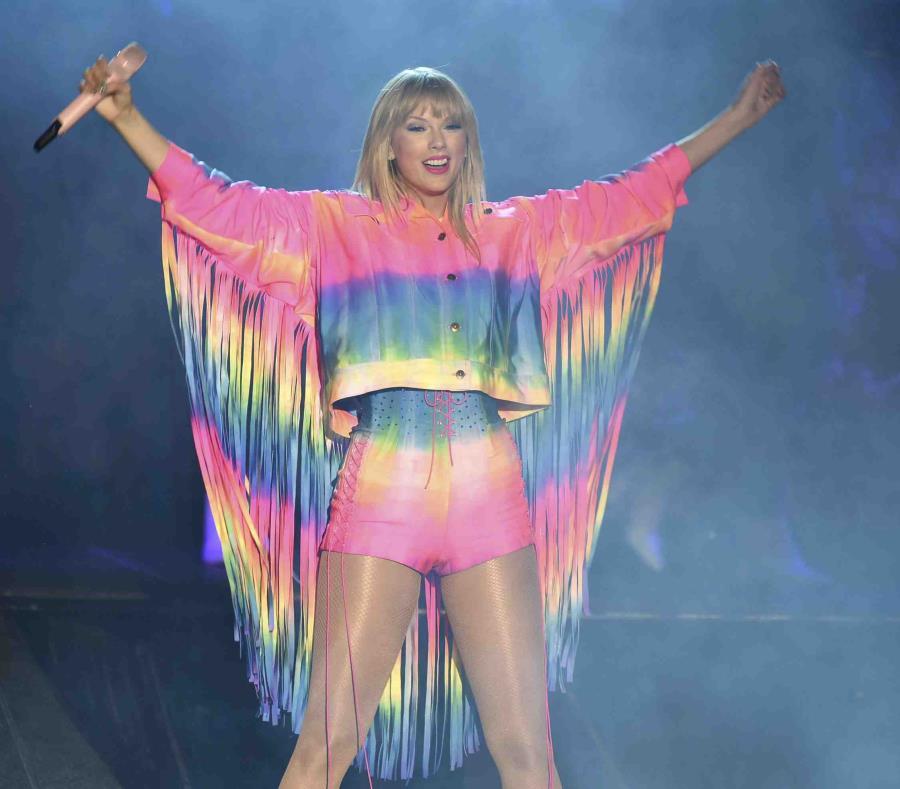Taylor Swift lanzará línea de ropa inspirada en Lover, su próximo álbum
