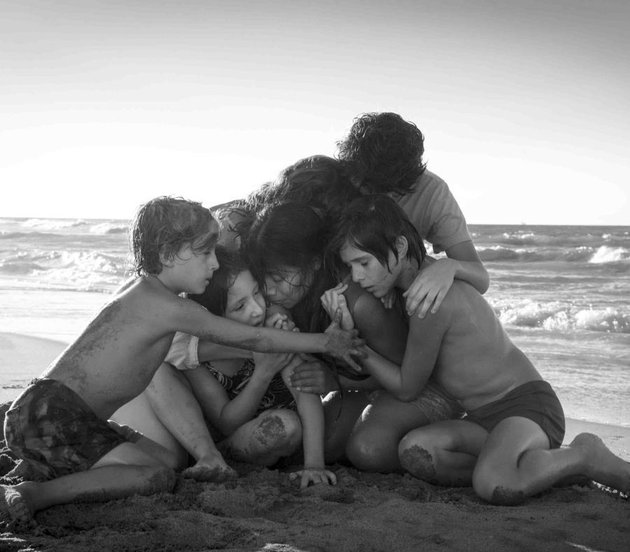 Escena de Roma, de Alfonso Cuarón. (AP) (semisquare-x3)