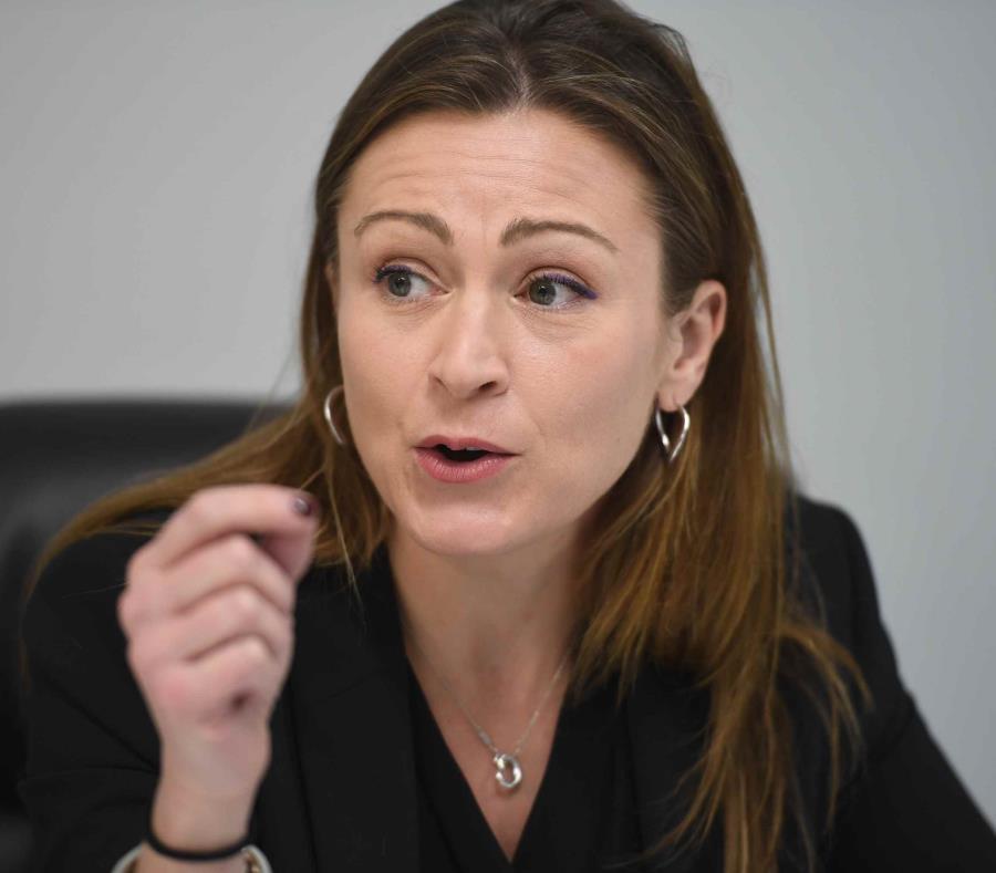 Julia Keleher, exsecretaria del Departamento de Educación. (GFR Media) (semisquare-x3)