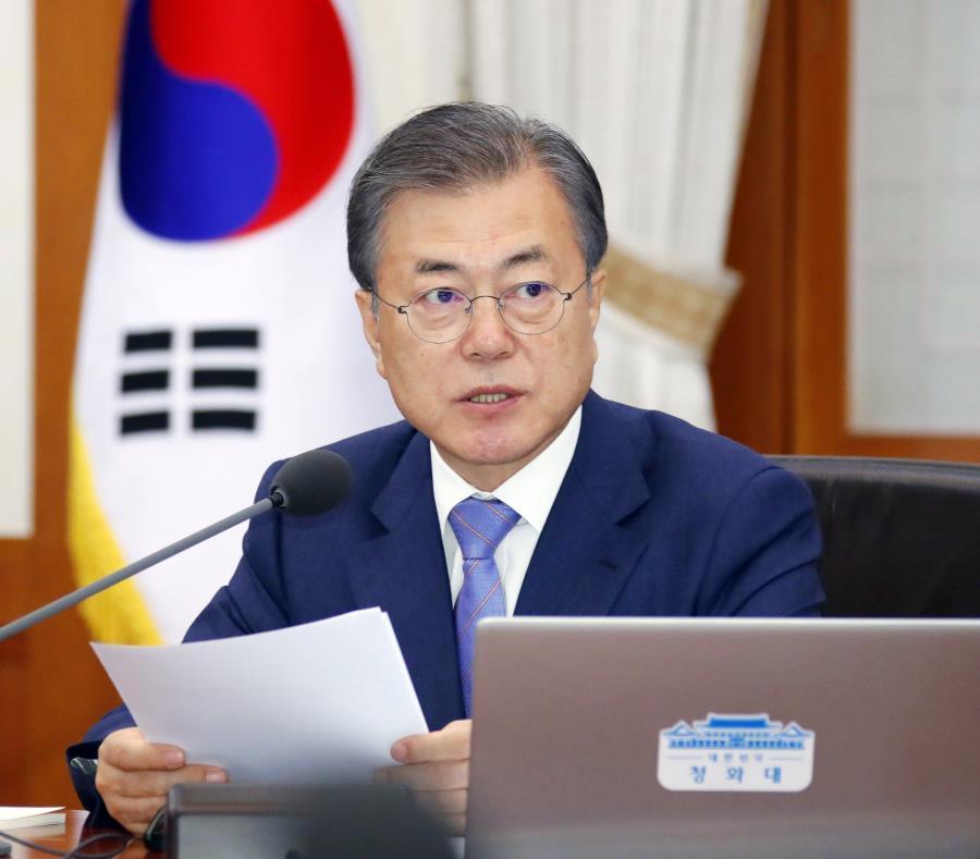 El presidente de Corea del Sur, Moon Jae-in, cree que los últimos ensayos norcoreanos se deben a que el régimen está