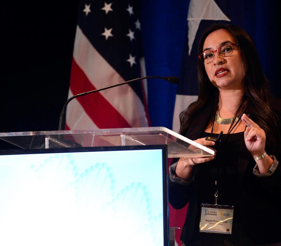 La sicóloga clínica Nayda Román Vázquez resaltó que el suicidio no siempre es resultado de un problema de salud mental, y urgió a la población a estar atentos a señales de peligro en personas que puedan estar a riesgo. (GFR Media) (semisquare-x3)