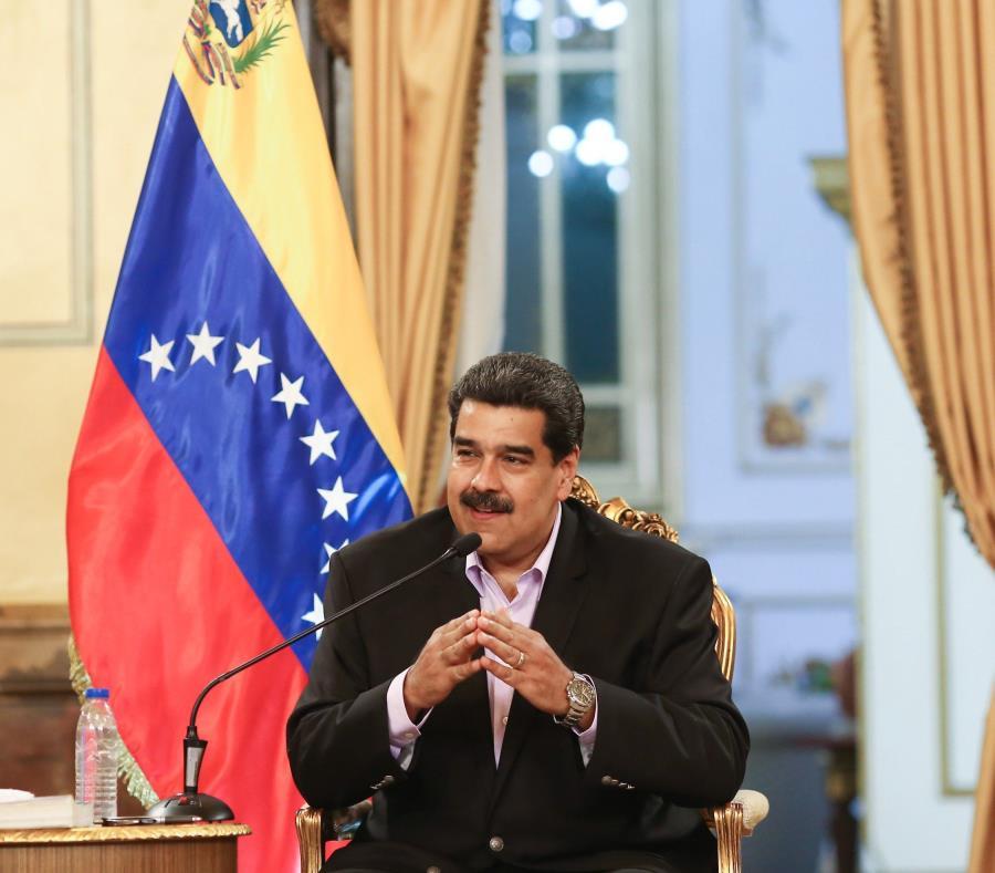 Nicolás Maduro aseguró que EE.UU. quiso probar a su país cuando la semana pasada un buque estadounidense se aproximó a su mar territorial (semisquare-x3)