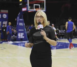 La analista de NBA Doris Burke dice que dio positivo al coronavirus