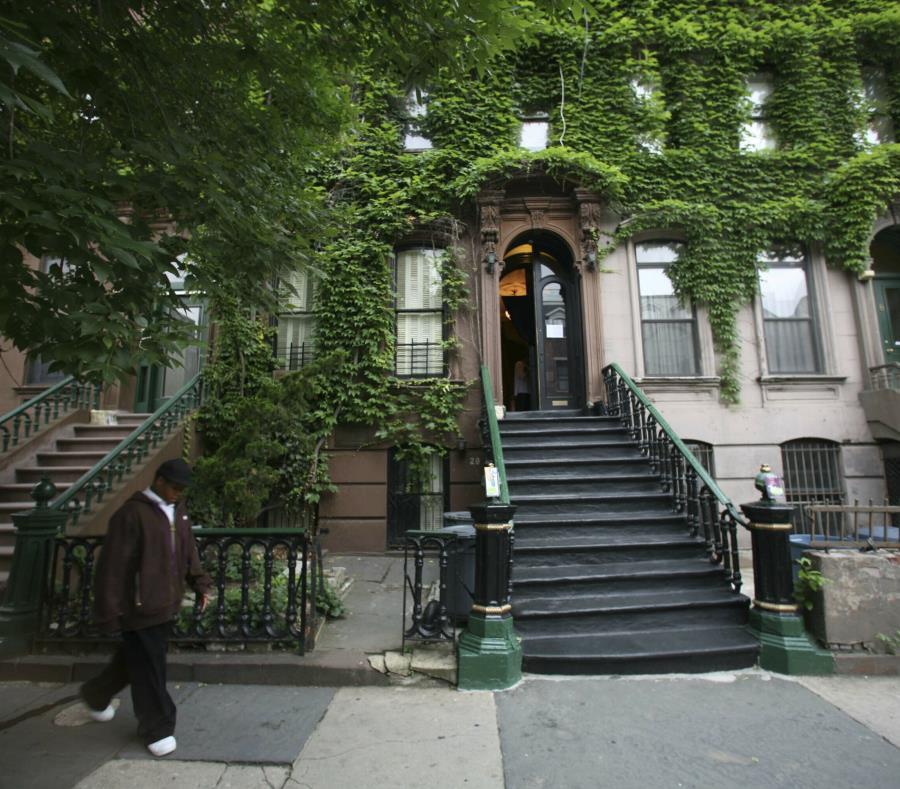 La imagen muestra una calle en Harlem, Nueva York, donde reside Alelia Murphy. (AP) (semisquare-x3)