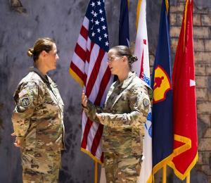 Mujeres líderes en el Ejército
