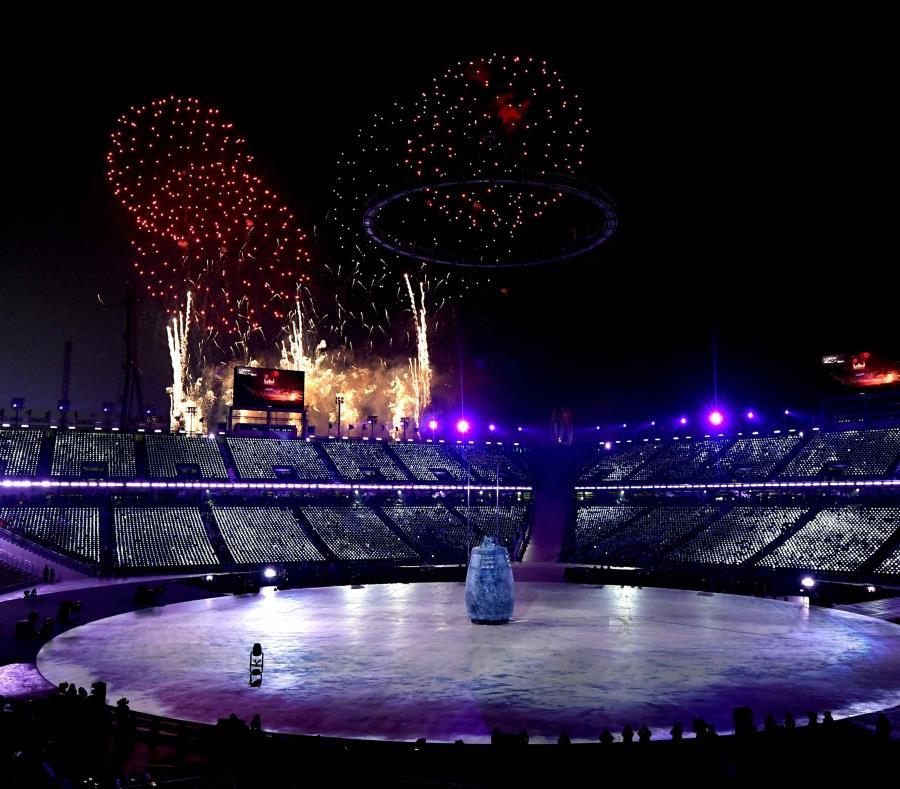 La ceremonia inaugural de los Juegos Olímpicos. (semisquare-x3)