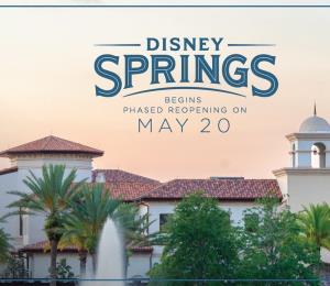 Disney revela reglas para reapertura de Disney Springs