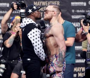 Mayweather vs. McGregor, o Messi contra Steph Curry