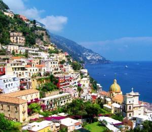 Belleza natural en la Costa Amalfitana en Italia