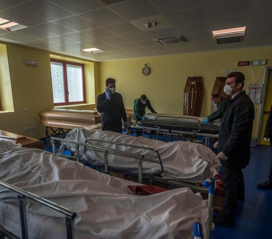 Italia se convierte en el país con más muertes por COVID-19 con ...