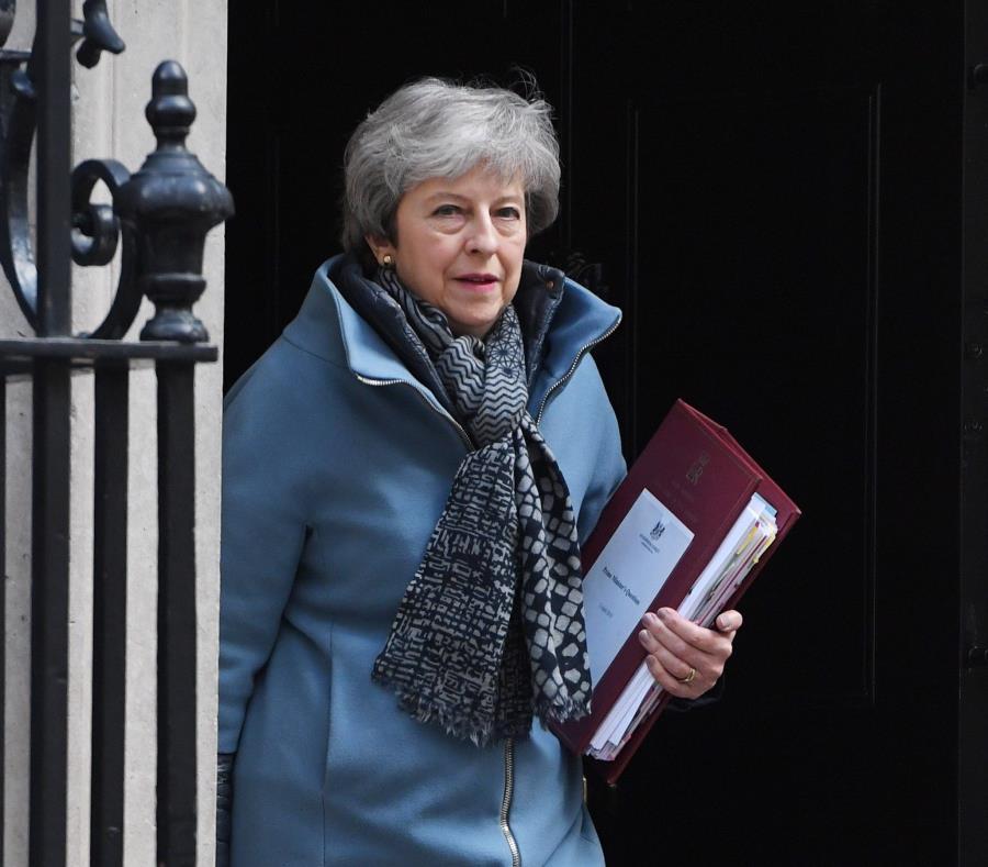 El acuerdo del Brexit de May fue derrotado a finales de marzo por tercera vez. (EFE) (semisquare-x3)