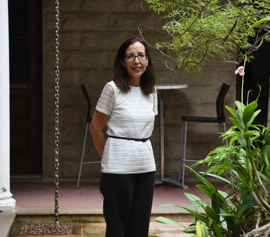 La nueva presidenta, Diana Luna, Serbiá, indicó que el azote de María debe motivar un cambio en la política pública (semisquare-x3)