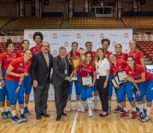 Confirman a las 12 jugadoras de la Copa Challenge Norceca