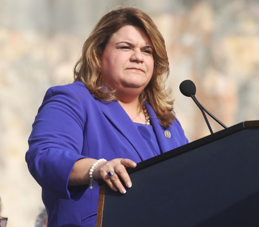 Commissioner Jenniffer González. (GFR Media) (semisquare-x3)