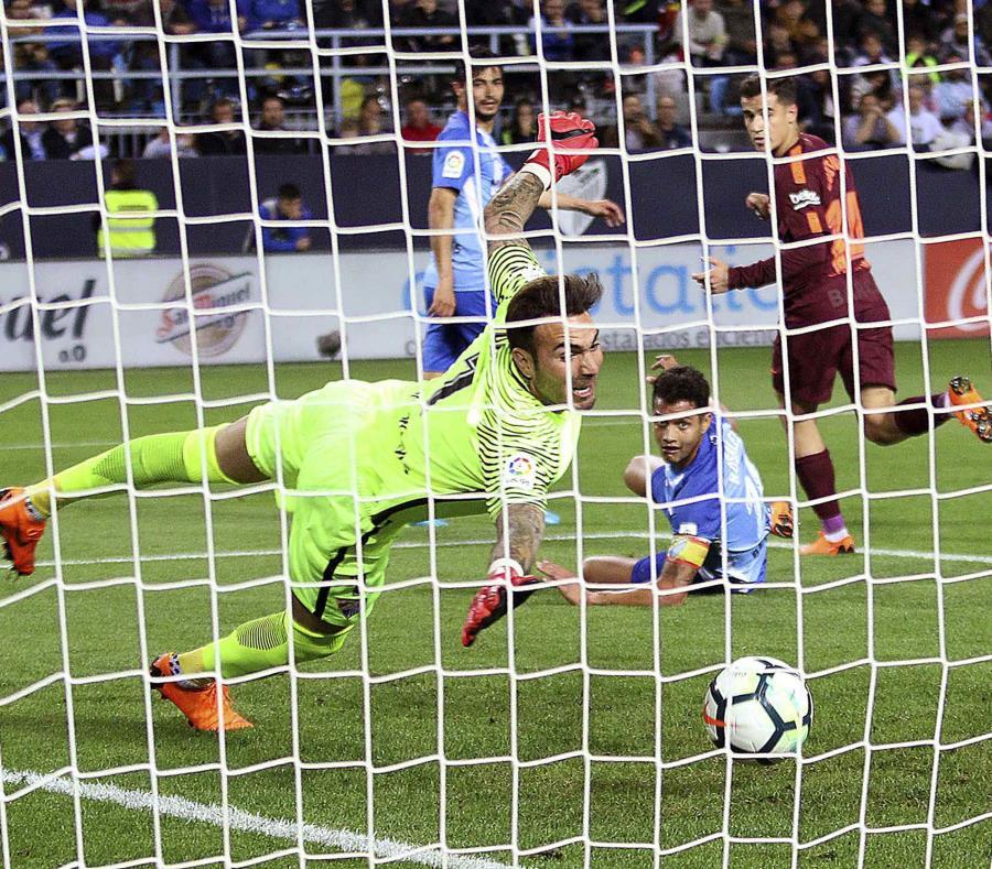 Gol de Coutinho en el partido. (AP) (semisquare-x3)