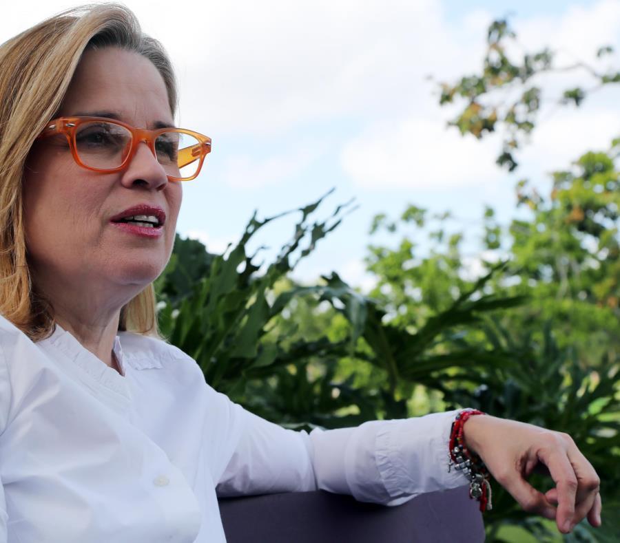 La alcaldesa de San Juan, Carmen Yulín Cruz Soto, sostuvo que el exgobernador Aníbal Acevedo Vilá está en su derecho de hacer el llamado. (GFR Media) (semisquare-x3)