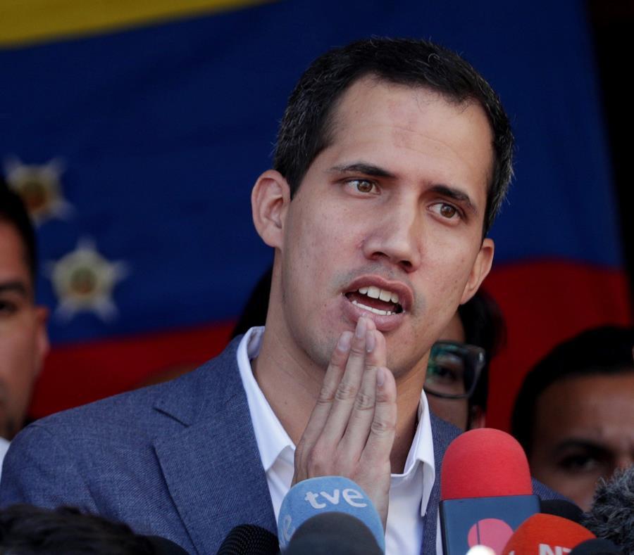Guaidó acusó el domingo a Maduro y a su gobierno de ser