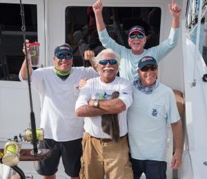 Concluye el Torneo Internacional de Pesca con 56 soltadas