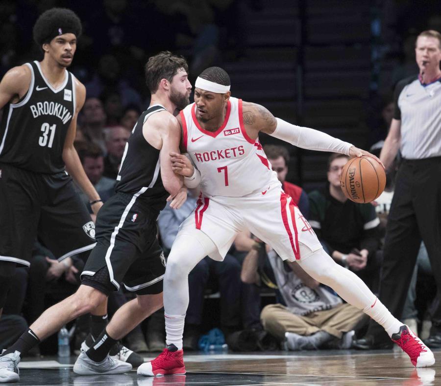Harden anota 40 puntos en triunfo de Rockets