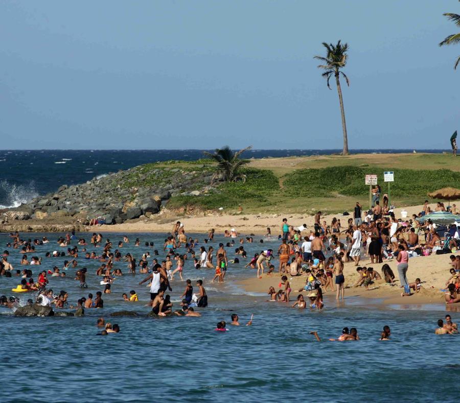 El Programa de Playas adscrito al DRNA notificó que todas las playas están aptas para bañistas. (semisquare-x3)