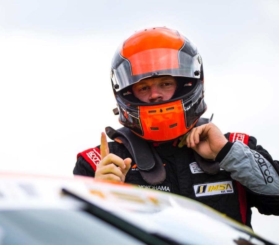 El puertorriqueño Sebastián Carazo participará de la próxima carrera de IMSA Porsche GT3 Cup Challenge USA en la pista Mid-Ohio. (Suministrada) (semisquare-x3)
