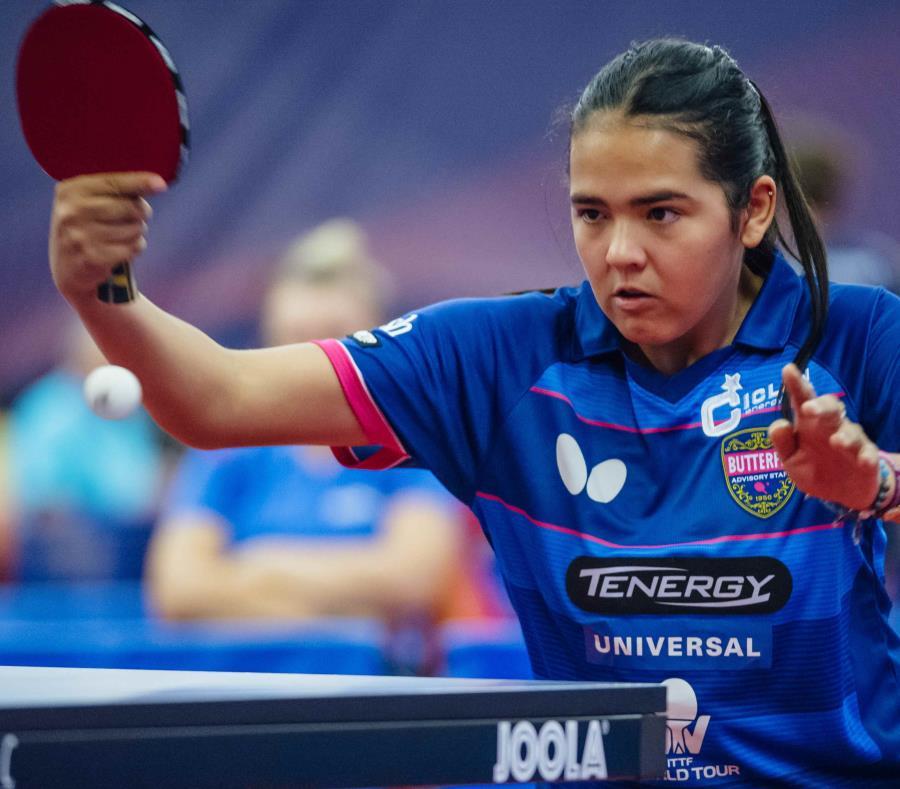 Adriana Díaz derrotó ayer a la número 17 del mundo, la austriaca Sofía Polcanova. (GFR Media) (semisquare-x3)