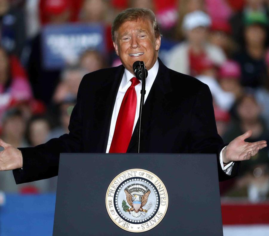Donald Trump, presidente de Estados Unidos. (AP / Jeff Roberson) (semisquare-x3)