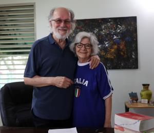 Jacobo Morales comparte su historia de amor con Blanca Eró