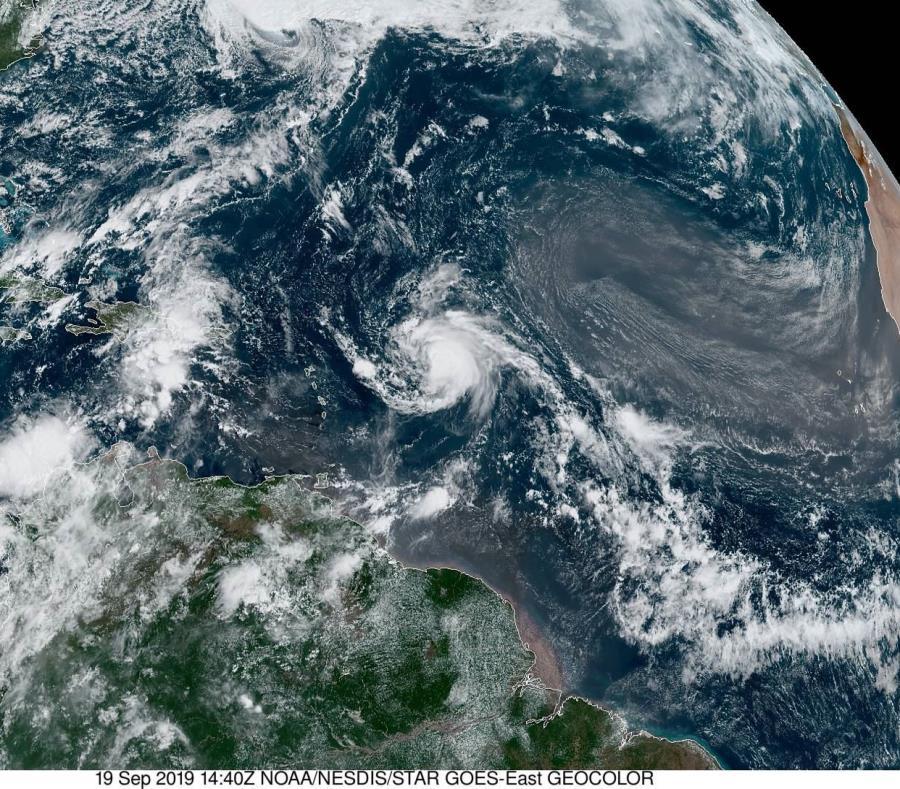 Se forma Tormenta Tropical 'Imelda' en costas de Texas
