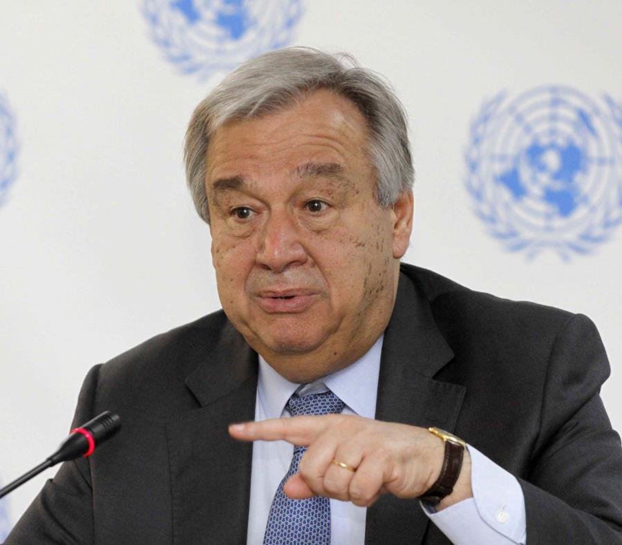 Antonio Guterres, secretario general de la ONU (semisquare-x3)