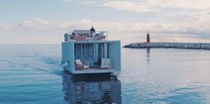 "Punta de Mar, una ""suite"" sobre el agua"