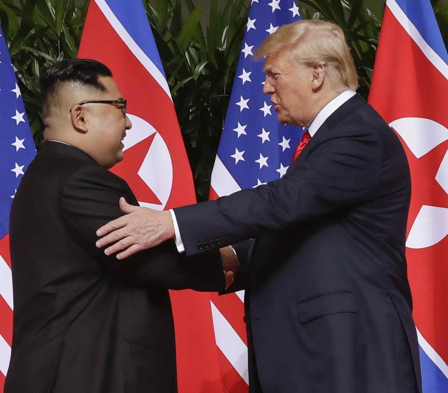Pese a roces, Donald Trump felicita a Kim Jong-un por cumpleaños