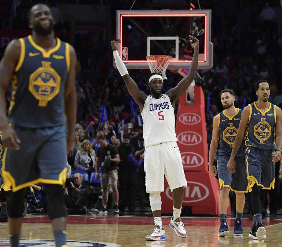 El incidente ocurrió en la derrota de los Warriors contra los Clippers