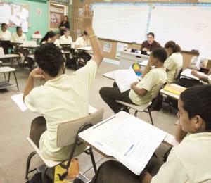 La encrucijada de los maestros
