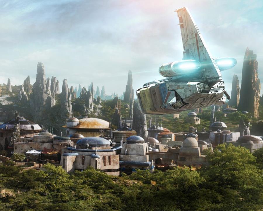 La entrada a Star Wars Galaxy Edge estará incluida en el precio de admisión. (Suministrada) (semisquare-x3)