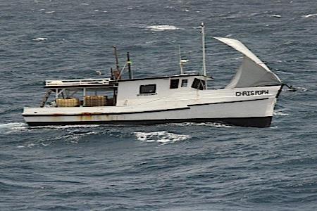La imagen de archivo muestra una embarcación detenida por la Guardia Costera de Estados Unidos. (GFR Media) (semisquare-x3)