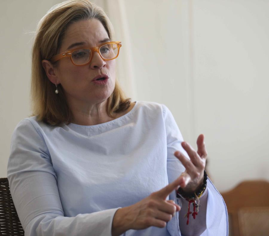 Durante la emergencia del huracán María, Carmen Yulín Cruz fue una voz crítica del gobierno de Donald Trump por su falta de agilidad a la hora de atender la crisis (GFR Media) (semisquare-x3)